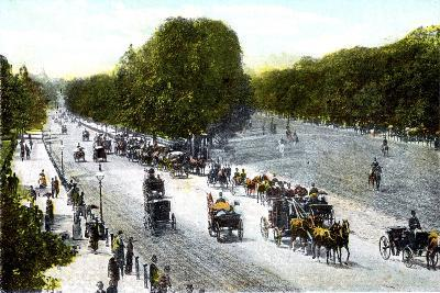 Rotten Row, Hyde Park, London, 20th Century--Giclee Print