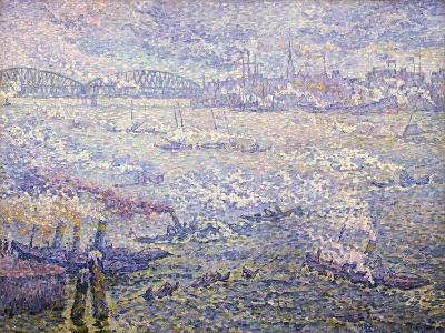 Rotterdam, Les Fumées-Paul Signac-Giclee Print