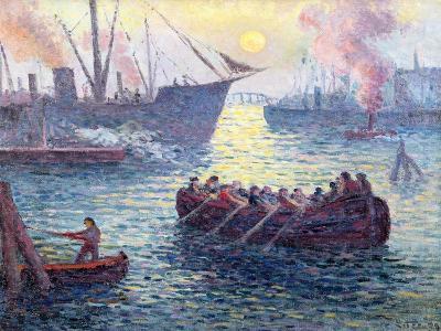 Rotterdam, the Port, 1907-Maximilien Luce-Giclee Print