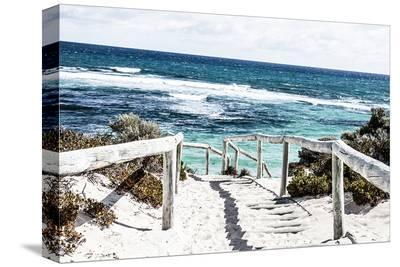 Rottnest Island Beach Walk--Stretched Canvas Print