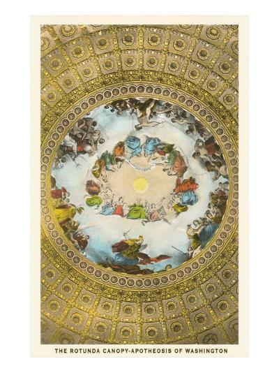 Rotunda Canopy, Capitol, Washington D.C.--Art Print