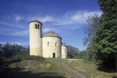Rotunda of St. George at Rip Hill, Bohemia, Czech Republic--Photographic Print