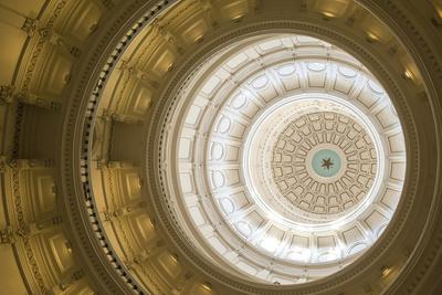 Rotunda, State Capitol Building, Austin, Texas, Usa-Jim Engelbrecht-Photographic Print