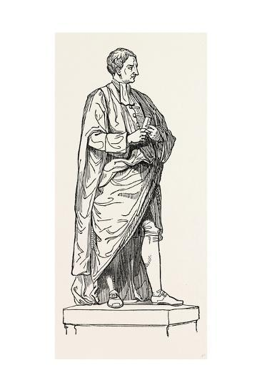 Roubiliac's Statue from the Chapel of Trinity College--Giclee Print