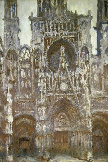 Rouen Cathedral (Harmony in Brown), 1892-Claude Monet-Giclee Print