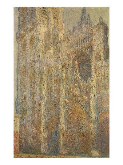 Rouen Cathedral, Midday, 1894-Claude Monet-Giclee Print