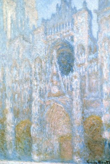 Rouen Cathedral, Sunlight Effect, 1894-Claude Monet-Giclee Print