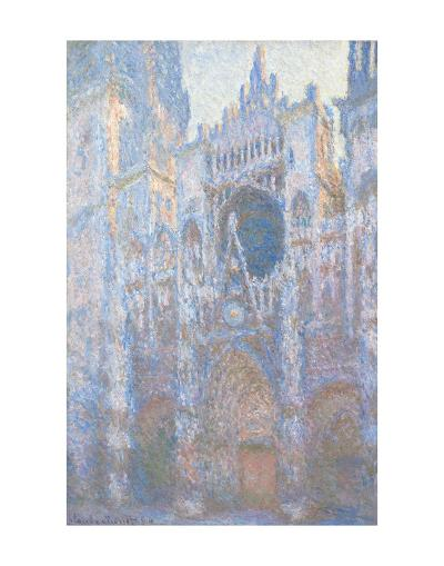 Rouen Cathedral, West Fa?ade, 1894-Claude Monet-Art Print