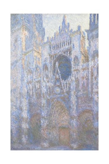 Rouen Cathedral, West Facade, 1894-Claude Monet-Giclee Print
