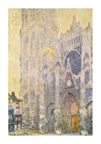 Rouen Cathedral-Claude Monet-Premium Giclee Print