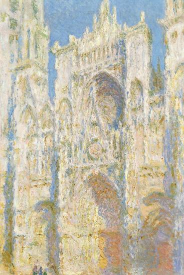 Rouen Cathedral-Claude Monet-Giclee Print