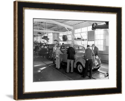 Rouge Final Assembly Line--Framed Giclee Print