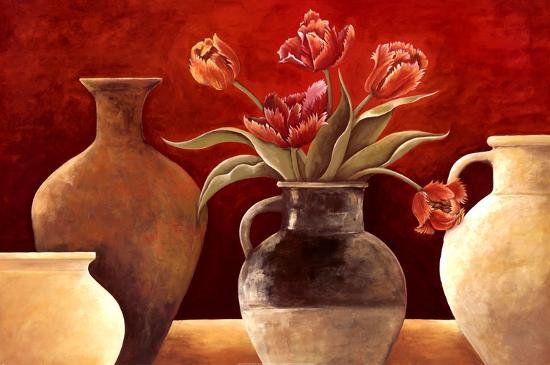 Rouge I-Vincent Rene-Art Print