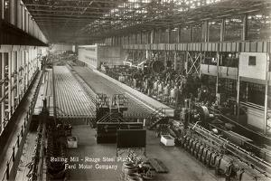 Rouge Steel Plant, Ford