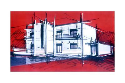 Rough Art House Sketch