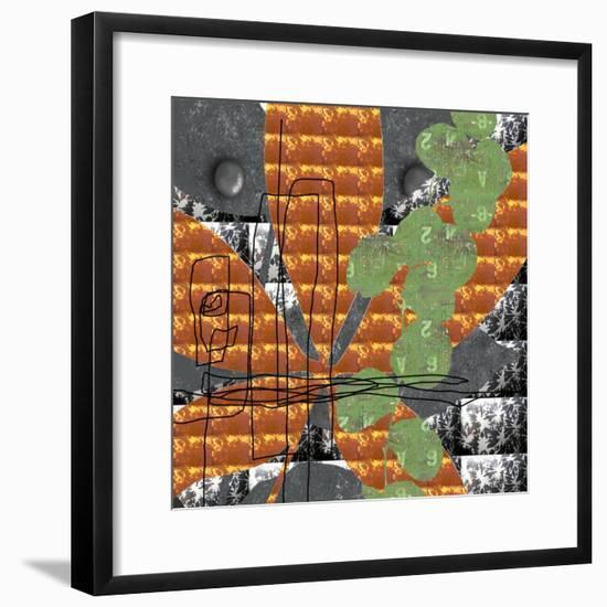 Rough Edges-Jan Weiss-Framed Art Print