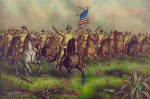 Rough-Riders, Col. Theodore Roosevelt, U.S.V. Commander
