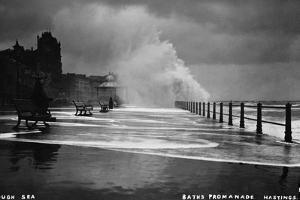 Rough Sea at Brighton