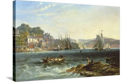 Rough Seas-James Wilson Carmichael-Stretched Canvas Print