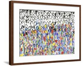 Roughly Two-Thirds-Diana Ong-Framed Giclee Print