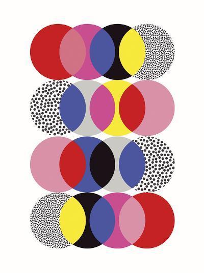 Roulette Tangle-Sophie Ledesma-Giclee Print