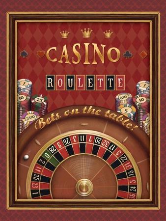 Roulette-Daphne Brissonnet-Art Print