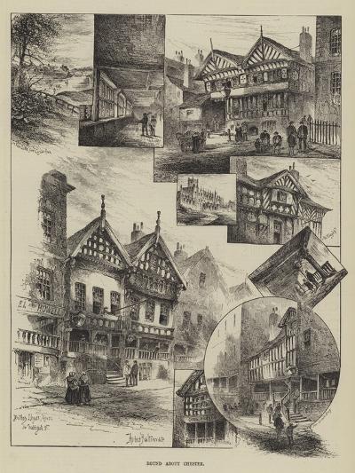 Round About Chester-Herbert Railton-Giclee Print