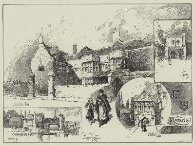 Round About Norwich-Herbert Railton-Giclee Print