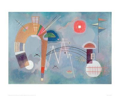 Round and Pointed, 1930-Wassily Kandinsky-Giclee Print