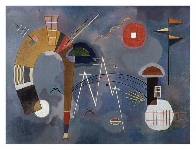 Round and Pointed-Wassily Kandinsky-Giclee Print