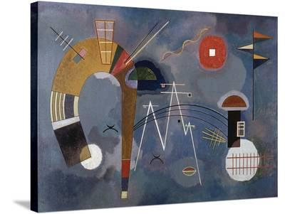Round and Pointed-Wassily Kandinsky-Stretched Canvas Print