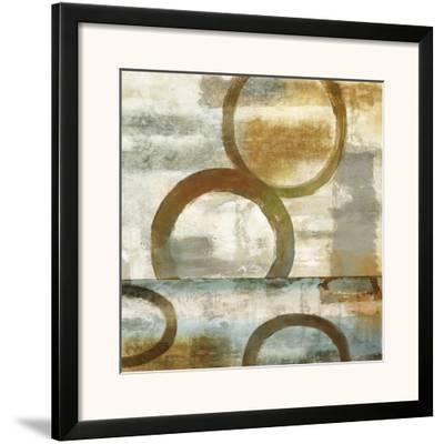 Round and Round II-Brent Nelson-Framed Art Print