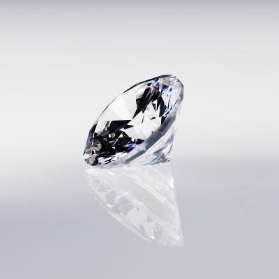 Round Cut Diamond--Photographic Print