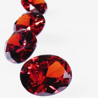 Round Cut Rubies--Photographic Print