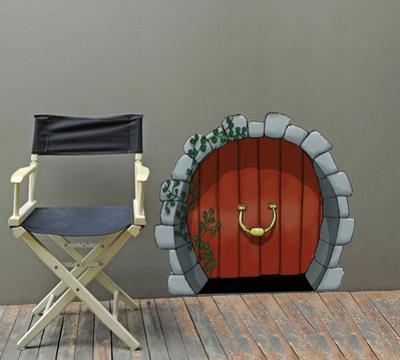 Round Elves Door
