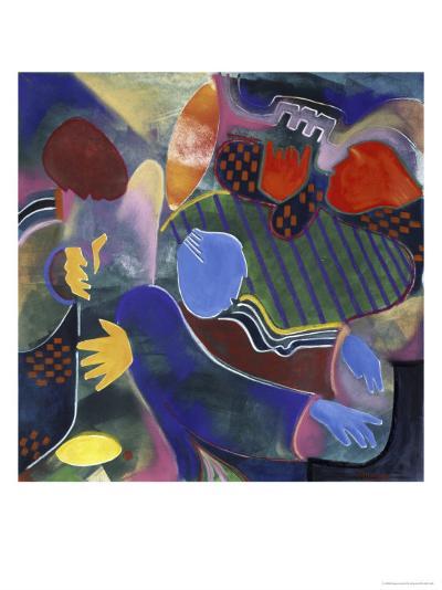 Round Midnight-Gil Mayers-Giclee Print
