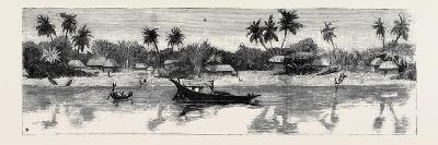 Round the World Yachting in the Ceylon, Calcutta: the Banks of the Hooghly--Giclee Print