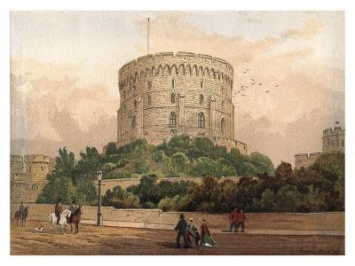Round Tower, Windsor, 1880-F Jones-Giclee Print