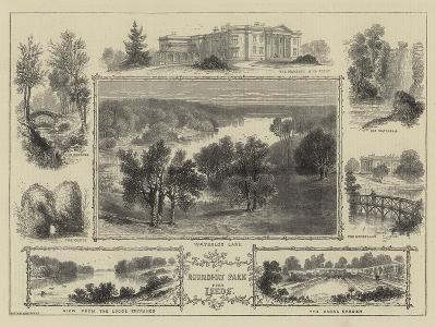 Roundhay Park Near Leeds--Giclee Print