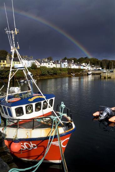 Roundstone Harbor in Connemara, Ireland-Chris Hill-Photographic Print