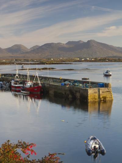 Roundstone Harbour, Connemara, Co, Galway, Ireland-Doug Pearson-Photographic Print