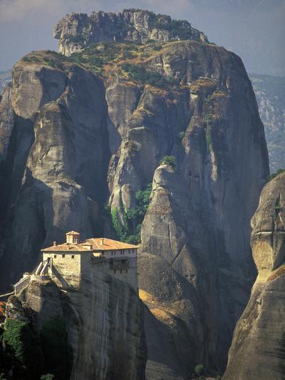 Roussanou Monastery, Meteora, Monasteries of Meteora, Thessaly, Greece-Walter Bibikow-Photographic Print
