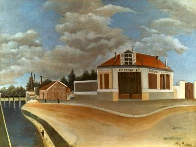 Rousseau: Factory, C1897-Henri Rousseau-Giclee Print