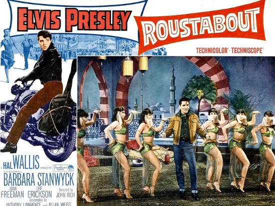 Roustabout, Elvis Presley, 1964--Art Print