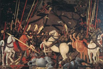 Rout of St Roman (Battle of St Roman)-Paolo di Dono (Uccello)-Giclee Print
