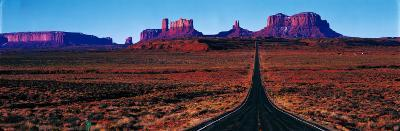 Route 163, Monument Valley, Tribal Park, Utah, USA--Photographic Print
