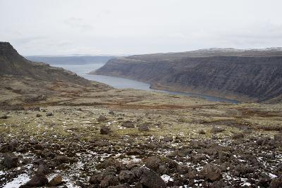 Route 60, View on Geirpjofsfjšrdur, Westfjords, West Iceland-Julia Wellner-Photographic Print