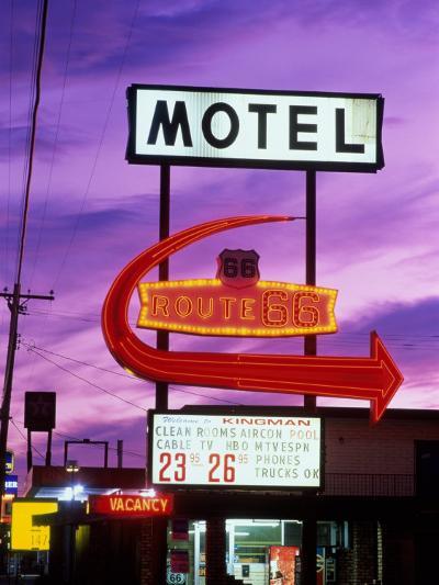 Route 66, Arizona, USA--Photographic Print