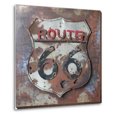 Route 66 - Dimensional Metal Wall Art