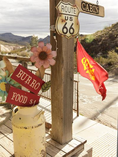Route 66, Oatman, Arizona, USA-Julian McRoberts-Photographic Print